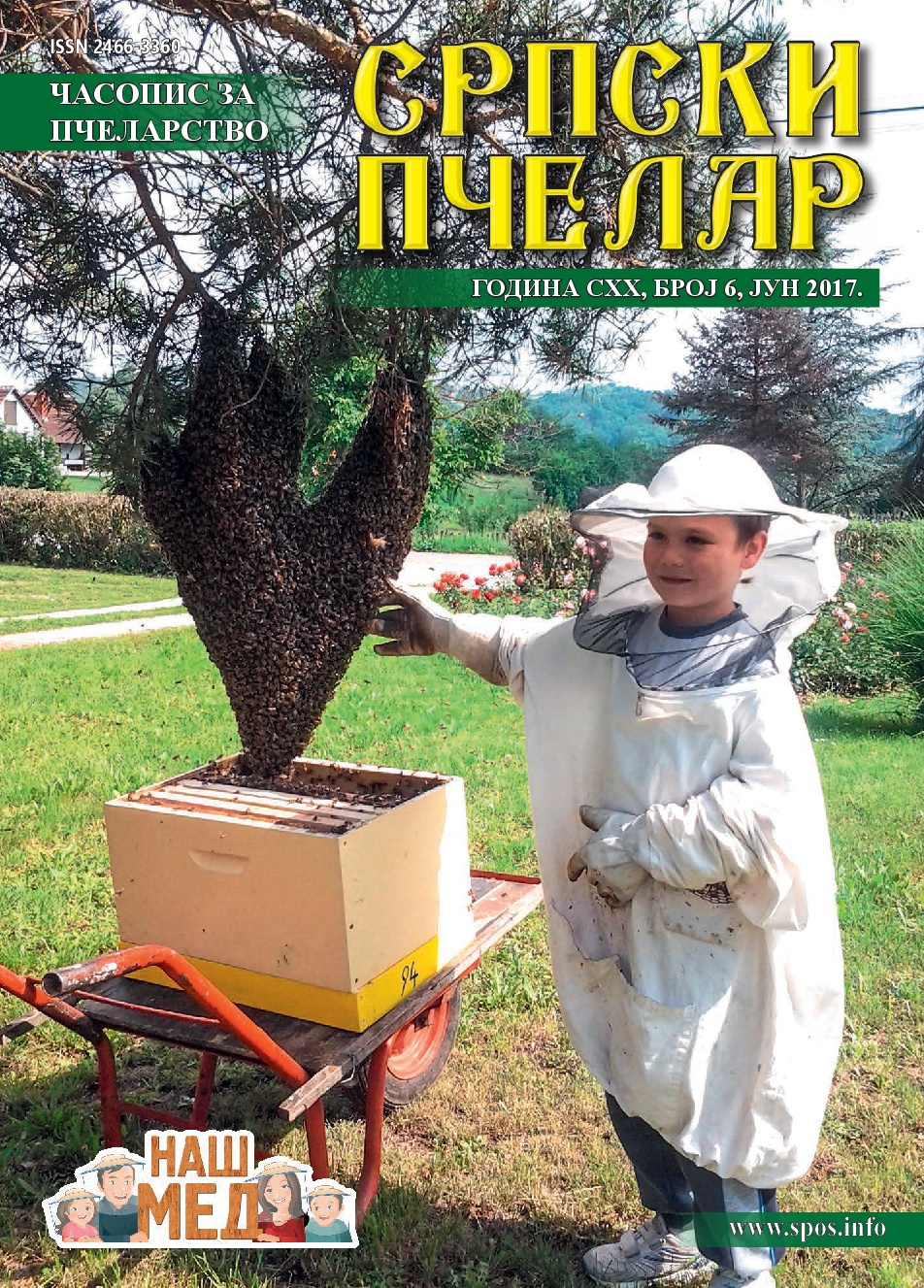 NASLOVNA Srpski pcelar jun 2017 cir_za sajt