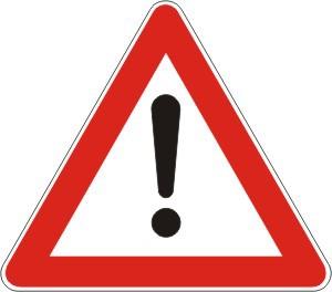 Znak upozorenja uzvicnik